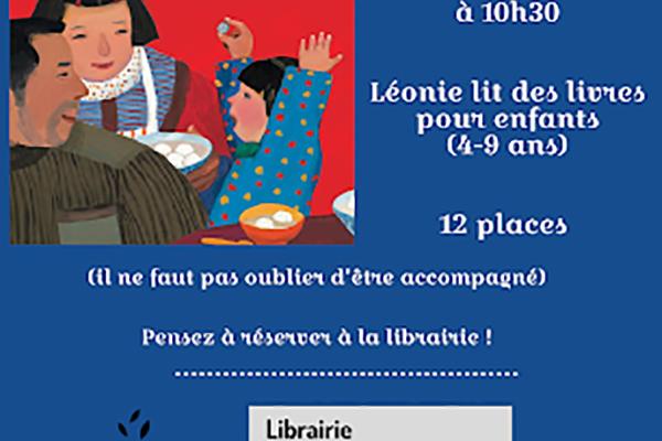 Les lectures de Léonie !