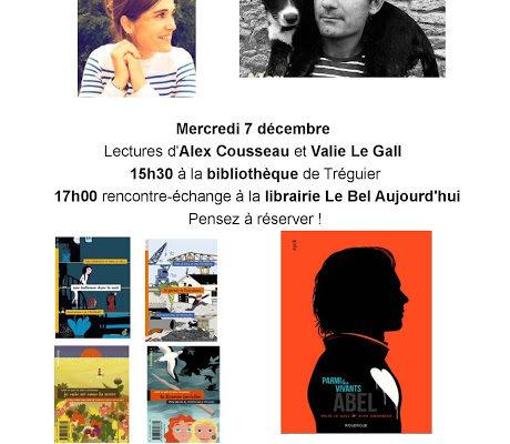 Rencontre : Alex Cousseau & Valie Le Gall