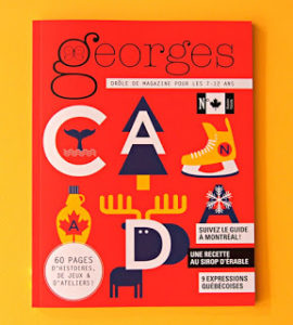 Geaorges - Canada - proposition librairie Le Bel Auourd'hui