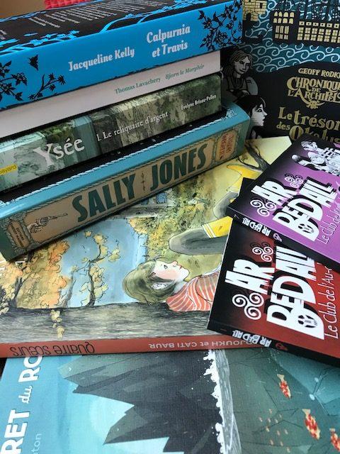 Pile de livres - Le bel Aujourd'hui