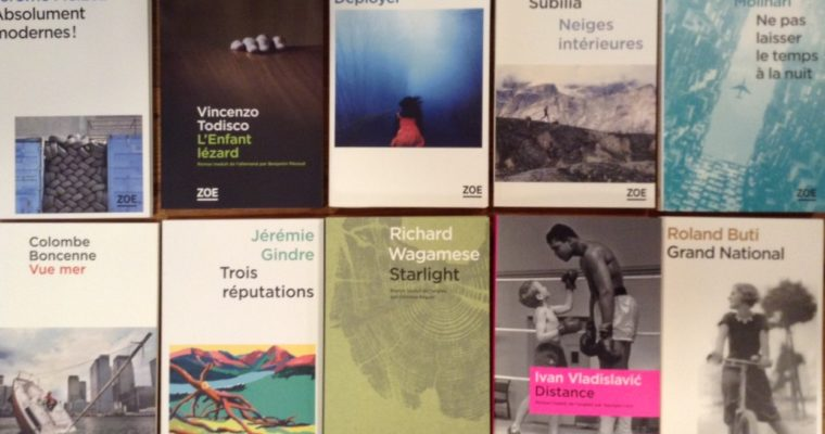 Quelques éditeurs de choix : La Peuplade et Editions Zoé