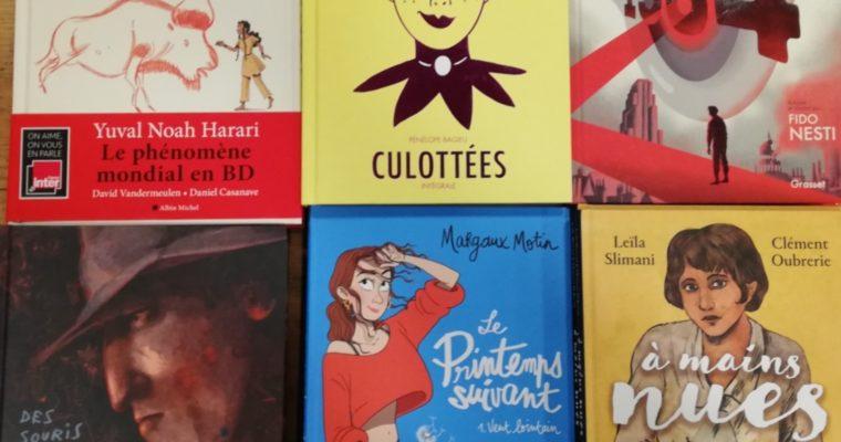 Quelques morceaux de choix : nouvelles BD et romans graphiques